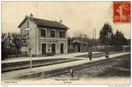 55-SAUVIGNY Illustré-La Gare - France