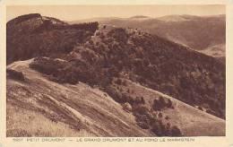 68 - Petit Drumont - Le Grand Drumont Et Au Fond Le Markstein (peu Vue) - France