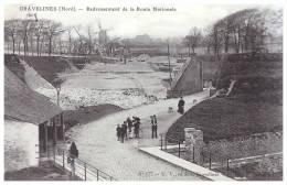 Gravelines   Redressement   De La Route Nationale Pres De Loon Plage Petit Fort  Philippe  Dunkerque Calais - Gravelines