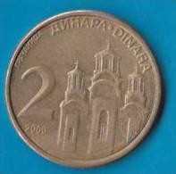 SERBIA - 2 Dinara 2006 - Serbia