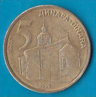SERBIA - 5 Dinara 2006 - Serbie