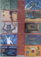 COLLECTION OF 10 PHONECARDS  /  BARGAIN. - Phonecards