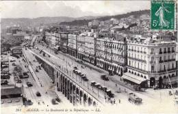 ALGERIEN, ALGER - Le Boulevard De La Republic, Gelaufen 190? - Algerien