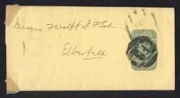 Great Britain, Wrapper Edward VII To Elberfeld, Germany - 1902-1951 (Koningen)