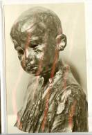 Postcard, Romania, Sculpture, Constantin Brancusi - Bust Of A Child - Sculpturen