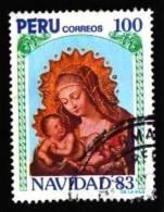 Peru: 'Weihnachten 1983' / 'Christmas' / 'Navidad' Oo - Peru