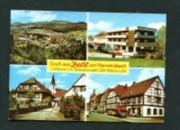 AK Zell Am Harmersbach Ortenau Hauptstraße (Z220) - Deutschland