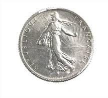 1 Franc -   1916 - Semeuse - Argent - TTB - H. 1 Franco