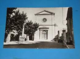 CPSM 26 DROME PIERRELATTE Place De L Eglise - France
