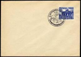 Deutfches Reich Cover With Cancel 1941 Horses Hoppegarten. - Briefe U. Dokumente