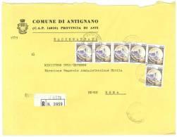 ANTIGNANO  14010  ASTI   ANNO 1981 - R  FTO18X24 - STORIA POSTALE DEI COMUNI D´ITALIA - POSTAL HISTORY - Affrancature Meccaniche Rosse (EMA)