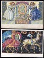 Bayern 2 Very Old Postkarte  1911 Used . - Brieven En Documenten