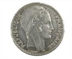 20 Francs -  Turin - 1937 - TTB -   Argent - L. 20 Franchi