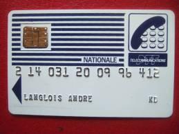 CARTES PASTEL - NATIONALE - PUCE SC1 - Impression SERIGRAPHIE - 15 N° Noirs - Recto N° 000029 - Rare - - France