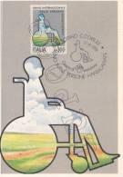 "Torino - 11-14 Aprile 1981 Manifestazioni Filateliche   "" MAXIMUM  CARD "" - Cartoline"