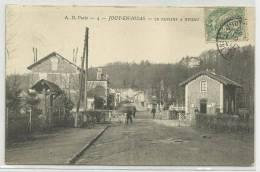 JOUY EN JOSAS (YVELINES - 78) - CPA - LE PASSAGE A NIVEAU - Jouy En Josas