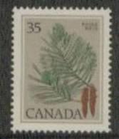 Canada Yvertnrs: 698 Postfris - Végétaux