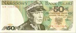 BANCONOTA DELLA POLONIA - 50 Zlotych - Polonia