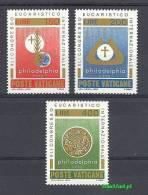 Vatican 1976 Mi 680-682 MNH - Symbol, Medal - Christianisme