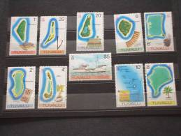 TUVALU - 1977-1978 PITTORICA 1+9 Valori - NUOVI(++)-TEMATICHE - Tuvalu