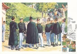 D09253 CARTE MAXIMUM CARD 1996 ITALY - GUARDIA DI FINANZA CP ORIGINAL - Militaria
