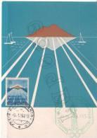 """Giochi Del Mediterraneo - Napoli 1963   """" MAXIMUM  CARD """" - Postcards"""
