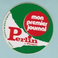 PERLIN ET PINPIN MON PREMIER JOURNAL - AUTOCOLLANT (205) - Autocollants