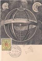 """Giornata Del Francobollo 1966  """" MAXIMUM  CARD """" - Cartoline"""