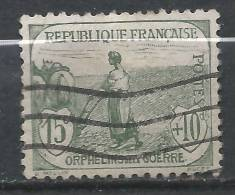 France N°150 ORPHELIN  Oblitéré Cote 28 Euro - Oblitérés