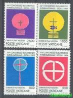 Vatican 1989 Mi 984-987 MNH - Symbols - Christendom