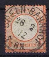 Deutschland, 1872, Mi 3 , Used/cancelled, Kleiner Brustschild - Usati