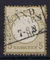 Deutschland, 1872, Mi 6 , Used/cancelled, Kleiner Brustschild - Usati