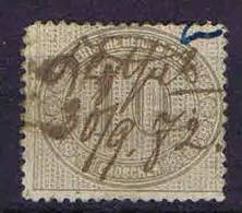 Deutschland, 1872, Mi 12  ,  Used/cancelled, - Germany