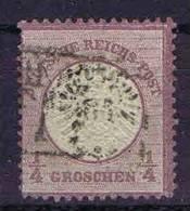 Deutschland, 1872, Mi 16  Used/cancelled, Grosser Brustschild - Germany