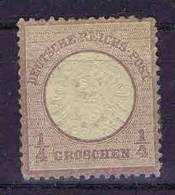 Deutschland, 1872, Mi 16  MH/* Grosser Brustschild