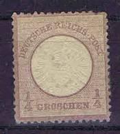 Deutschland, 1872, Mi 16  MH/* Grosser Brustschild - Ungebraucht