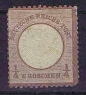 Deutschland, 1872, Mi 16 No Gum/(*) Grosser Brustschild - Ungebraucht