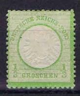 Deutschland, 1872, Mi 17 A  MH/*,  Grosser Brustschild - Neufs