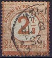Deutschland, 1872, Mi 29  Used / Cancelled Grosser Brustschild,
