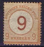 Deutschland, 1872, Mi 30  MH/*Grosser Brustschild, - Ungebraucht