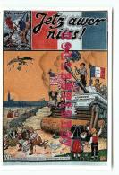 GUERRE 39-45 - AFFICHE De HANSI - GLOIRE Aux ARMEES ALLIEES - ALSACE - 50e ANNIVERSAIRE LIBERATION N°53 - VOIR DOS    - - Guerre 1939-45