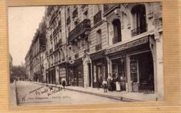 PARIS ARDT 16 DEVANTURE CAFE BAR BILLARD MR PITARD RUE PERGALESE  BELLE ANIMATION  EDIT CIRC NON - Arrondissement: 16