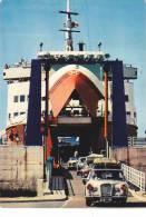 """21135 CHERBOURG France Gare Maritime """"Thoresen Car Ferries"""" VIKING Southampton AS 553 -Jaguar ? Mercedes ? - Voitures De Tourisme"""