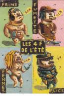 21139 Les 4 F De L'été, Femmes Flics Frime Fumette. Diego Aranega Les Inrockuptibles - Illustrateurs & Photographes