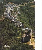 21144 Najac - Vue Aérienne Du Village Dominé Par Son Château -1030 AS - Najac