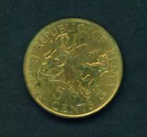 KENYA - 1975 5 Cents Circulated As Scan - Kenya