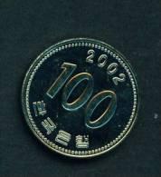 SOUTH KOREA - 2002 100 Won Circulated As Scan - Korea, South