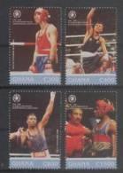 Ghana (1996) Yv. 1934/37  /  Boxeo  - Boxe - Boxing - Pugilato