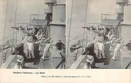 Militaria - Pendant L'exercice, La Boxe (carte Stéréo) - Militaria