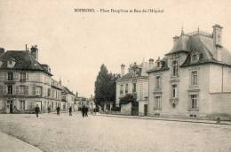 SOISSONS    Place Dauphine Et Rue De L'hopital - Soissons